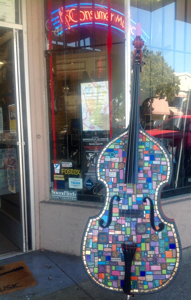Art Music Magic on display at Consumer Music in Vallejo