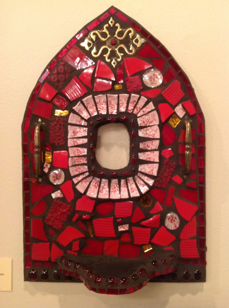 """Red Shrine"" Mosaic"